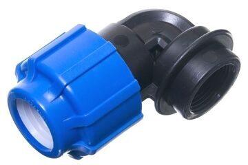 Отвод компрессионный с внутренней резьбой (ВР)